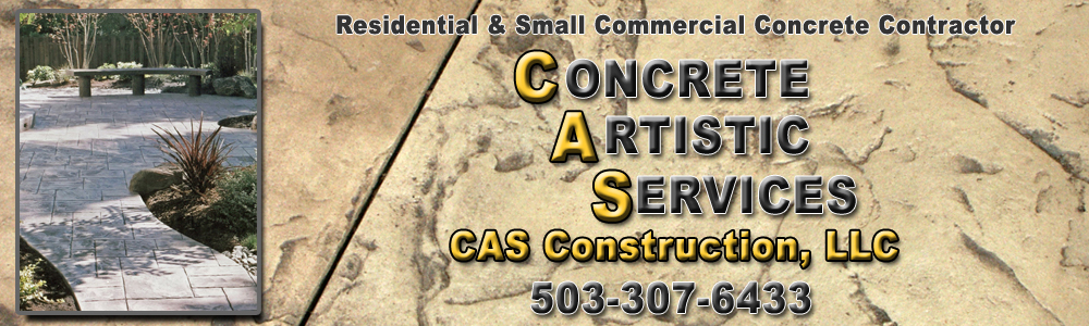 Stamped Concrete by Concrete Artistic Services, Portland, Oregon